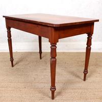 Edwardian Mahogany Writing Desk Table (12 of 12)