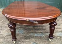 Super Quality Victorian Mahogany Extending Dining Table Seats 14 (8 of 18)
