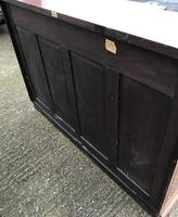 Wonderful Edwardian Inlaid Mahogany Four Door Breakfront Bookcase by Maple & co (4 of 14)