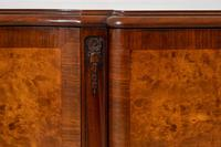 Stunning Burr Walnut 3 Door Side Cabinet (5 of 9)