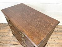 19th Century Antique Oak Chest of Drawers (7 of 9)