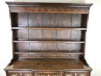 Antique 19th Century Oak Kitchen Dresser (3 of 9)