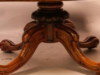 Victorian Coffee Table in Burr Walnut (8 of 9)