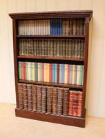 Oak Open Bookcase (3 of 11)
