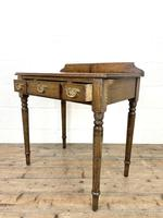 19th Century Antique Oak Side Table (9 of 10)