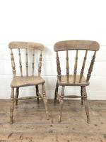 Set of Four Antique Kitchen Chairs (8 of 11)