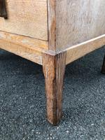 Antique Limed Oak Heals Chest of Drawers (6 of 10)