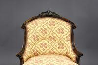 Victorian Rosewood Ladies & Gents Armchairs (17 of 22)