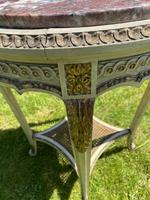 Original Paint & Gilt French Occasional Table (3 of 6)