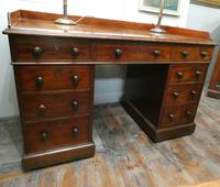 English Holland & Sons  Kneehole Desk (9 of 9)