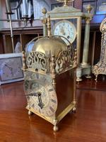Lantern Clock made in England - Coventry Movement 1930's 8 Day (2 of 5)