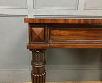 George IV Mahogany Console Table (4 of 12)