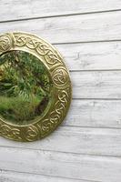 Arts & Crafts Movement Scottish / Glasgow School Circular Wall Mirror c.1900 (23 of 24)