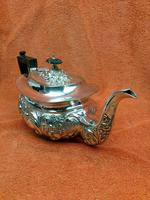 Antique Silver Plated Teapot JB Chatterley & Sons Ltd c.1920 (4 of 12)