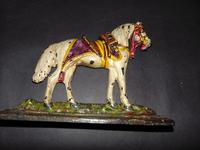 Pair of Victorian Cast Iron Horse Ornaments (2 of 6)
