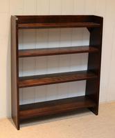 Solid Oak Graduated Bookshelves (3 of 10)