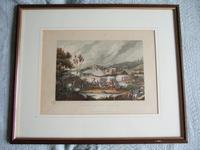 """Aquatint of """"The Battle of Vimiera 1808"""" Pub. by James Jenkins in """"Martial Achievements of Great Britain & Her Allies 1799-1815"""" (2 of 6)"""
