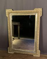 Decorative French Painted & Silver Gilt Mirror (4 of 6)