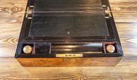 Burr Walnut Brass Bound Writing Slope 1870 (5 of 12)