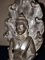 18th / 19th Cambodian Bronze Mucalinda Buddha (2 of 13)