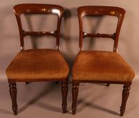 Set of 8 William IV Dining Chairs  Mahogany (9 of 12)