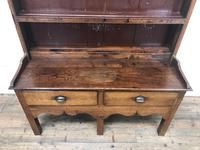 Small Antique Oak Farmhouse Country or Cottage Dresser (7 of 12)