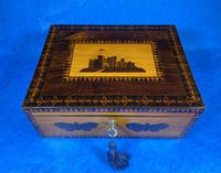 William IV Early Mosaic Tunbridge Ware Table Box (11 of 20)