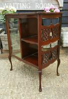 Lovely Victorian Mahogany Shop Display Cabinet (7 of 7)