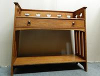 Arts & Crafts Oak Table -  Liberty & Co (2 of 8)