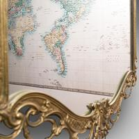 Large Antique Wall Mirror, Italian, Gilt Metal, Hall, Bedroom, Rococo, Victorian (11 of 12)