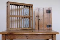 Antique Pine Freestanding Plate Rack (9 of 20)