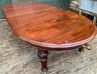 Super Quality Victorian Mahogany Extending Dining Table Seats 14 (7 of 18)