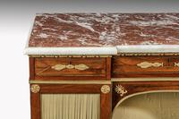 Regency Period Goncalo Alves Side Cabinet of Slightly Inverted Breakfront Form (7 of 8)