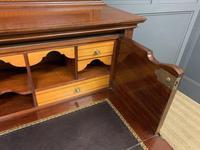 Edwardian Inlaid Mahogany Secretaire Bookcase (13 of 21)