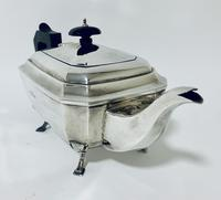 Solid Sterling Silver Art Deco Three Part Tea Set Service (3 of 20)