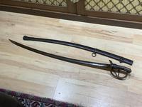 Sabre & Scabbard 1840's USA Calvary Sword,  Rare Sabre