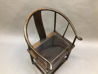 Chinese Horseshoe Throne Chair (3 of 6)