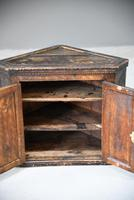 Grained Carved Rustic Hanging Cupboard (4 of 12)