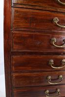 Tall & Slim Antique Edwardian Mahogany Music Cabinet (10 of 13)