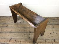 Early 20th Century Wooden Book Trough (8 of 8)