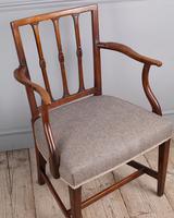 George III Elm Carver Chair (3 of 9)