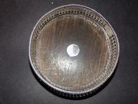 Solid Silver Wine Coaster 1841 (5 of 5)