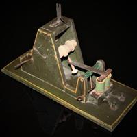Hand-built Model of Samuel Morse's Telegraph Receiver c.1860