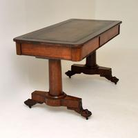 Antique William IV Rosewood Desk / Writing Table (3 of 15)