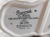 Royal Doulton, Beswick  Ware, Limited Edition, The Mad Hatter's Tea Party Tableau (12 of 12)