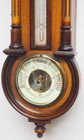 Antique combination HAC 8 Day Wall Clock Clock displays clock, barometer and thermometer (5 of 10)