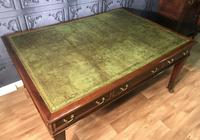 George III Style Mahogany Partners Library Table (4 of 14)