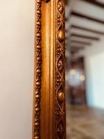 Antique Gold Mirror / Gilt Mirror / Large Mirror (2 of 9)