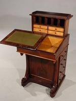 Very Good Quality Late 19th Century Rosewood Davenport (2 of 8)