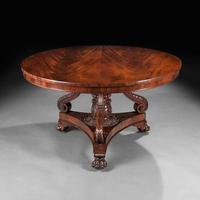 Fine Regency Period Mahogany Centre Table (2 of 13)